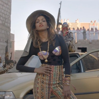 M.I.A.: Best Video of 2012