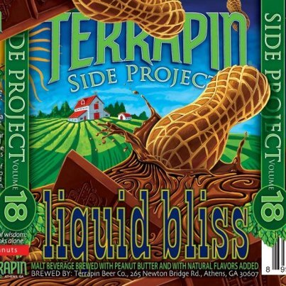 Terrapin Liquid Bliss: A Chocolate & Peanut Butter Porter