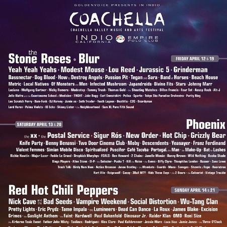Coachella Announces 2013 Lineup