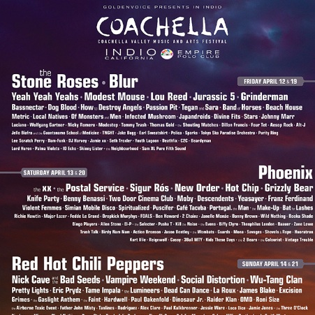 Coachella Announces 2013 Lineup