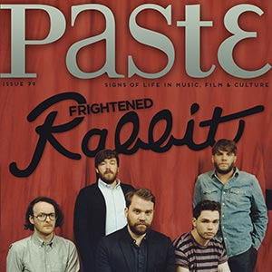 Paste mPlayer Issue #79 is live with Frightened Rabbit on the cover