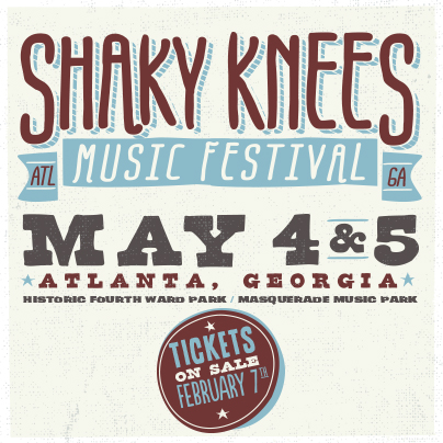 New Shaky Knees Festival in Atlanta Launches May 4-5 With Lumineers, Band of Horses