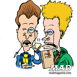 Peter Bagge Hates on Beavis and Butthead in new MAD Magazine