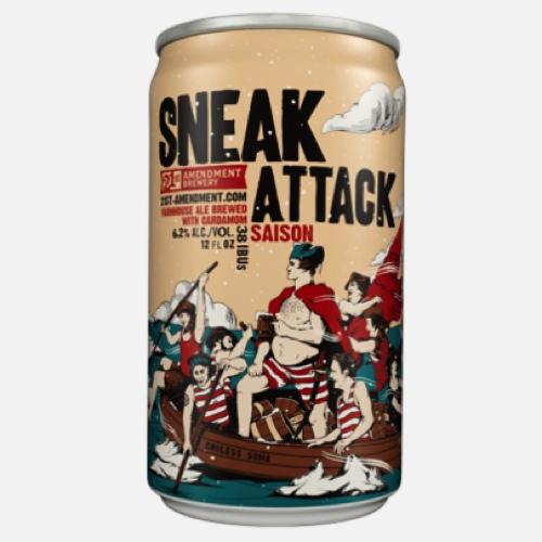 21st Amendment Sneak Attack Saison Review