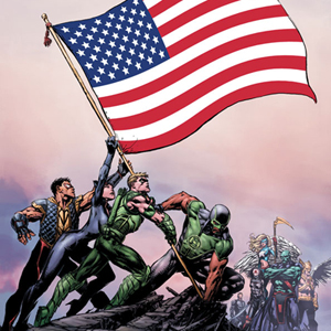 Justice League of America #1 by Geoff Johns and David Finch