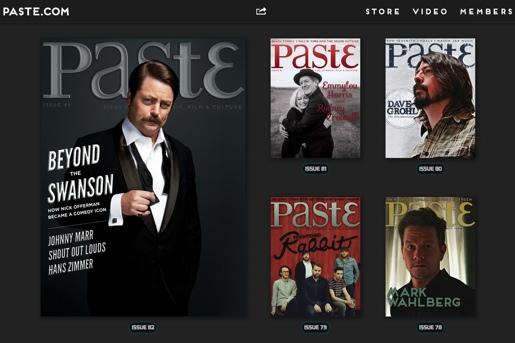 Introducing Paste's New Digital Publication: PASTE.COM
