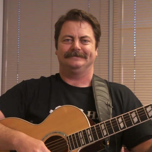 Nick Offerman Wrote a Song About Paste. Our Work Is Done.