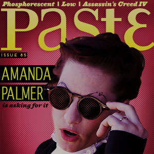 Check out Issue #85 of PASTE.COM featuring Amanda Palmer