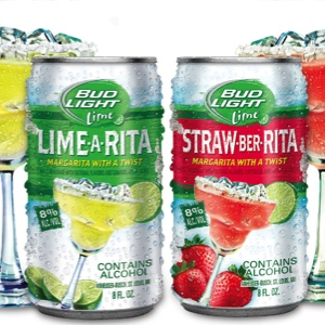 Bud Light Lime-a-Rita and Straw-ber-Rita Review