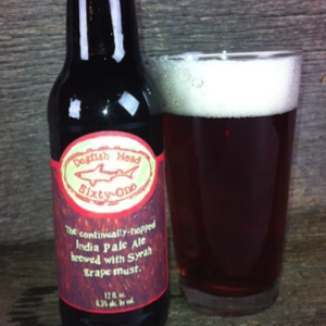 Dogfish Head Sixty-One Review: An IPA with Syrah Must