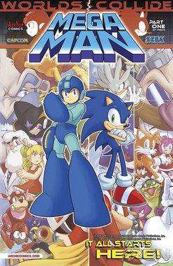 <i>Mega Man</i> #24 by Ian Flynn & Jamal Peppers