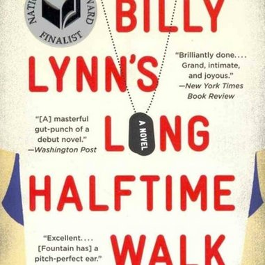 <i>Billy Lynn's Long Halftime Walk</i> by Ben Fountain and <i>Fobbit</i> by David Abrams