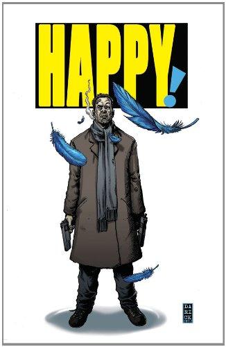 <i>Happy!</i> by Grant Morrison & Darick Robertson