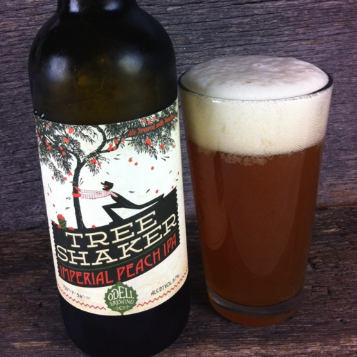 Odell Tree Shaker Imperial Peach IPA Review