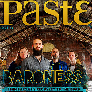 Check out Issue #92 of PASTE.COM featuring Baroness