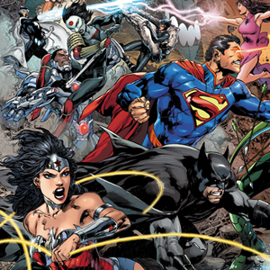 <i>Justice League</i> #22 by Geoff Johns & Ivan Reis