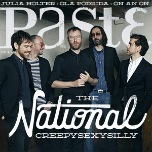 Check out Issue #104 of PASTE.COM featuring The National