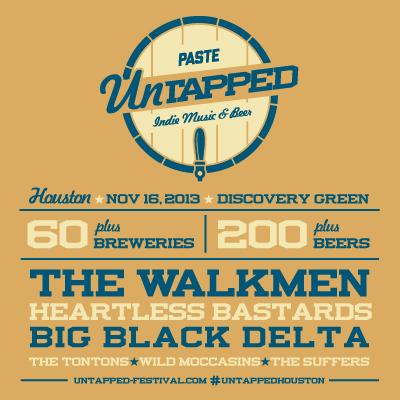 The Walkmen to Headline Houston Paste Untapped Festival