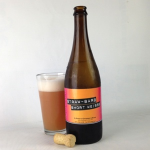 Smuttynose Straw-Barb Short Weisse: A Strawberry-Rhubarb Beer