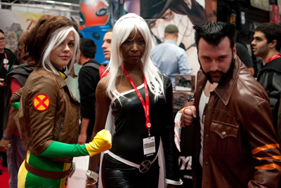 Nostalgia Drunk at New York Comic Con 2013