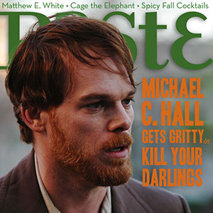 Check out Issue #114 of PASTE.COM featuring Michael C. Hall