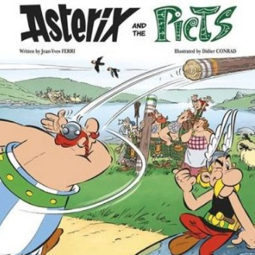 <i>Asterix and the Picts</i> by Jean-Yves Ferri and Didier Conrad