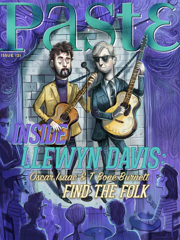 Cover Story: Oscar Isaac and T Bone Burnett Find Folk Inside Llewyn Davis