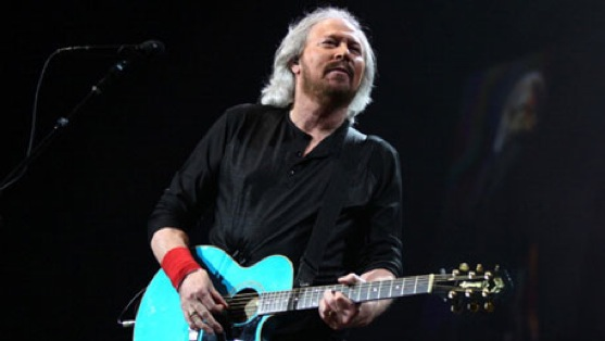 Catching Up With Barry Gibb