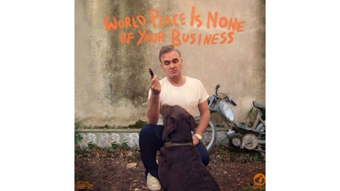 Morrissey: <i>World Peace is None of Your Business</i> Review