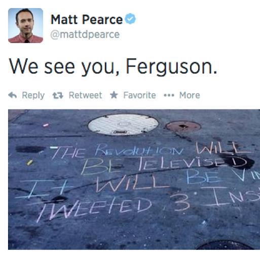 #MikeBrown, #Ferguson and Twitter: A Living Document