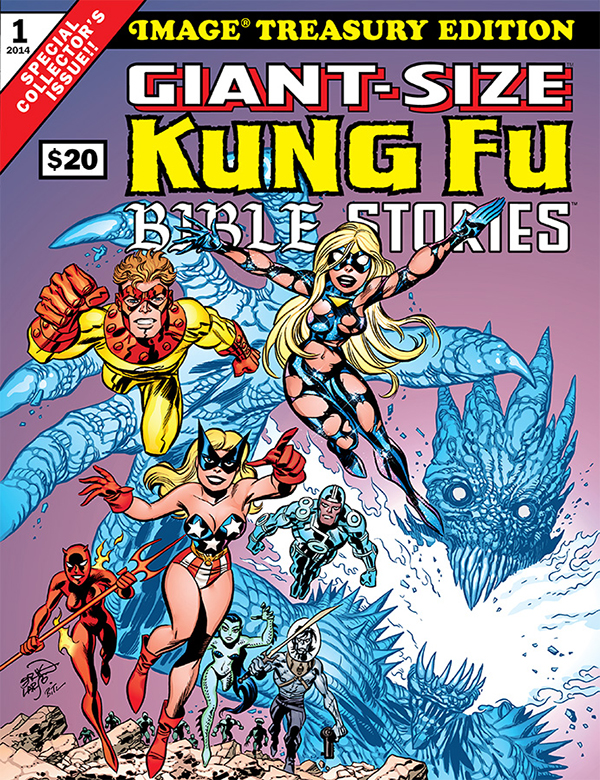 <i>Giant-Size Kung Fu Bible Stories</i> Review