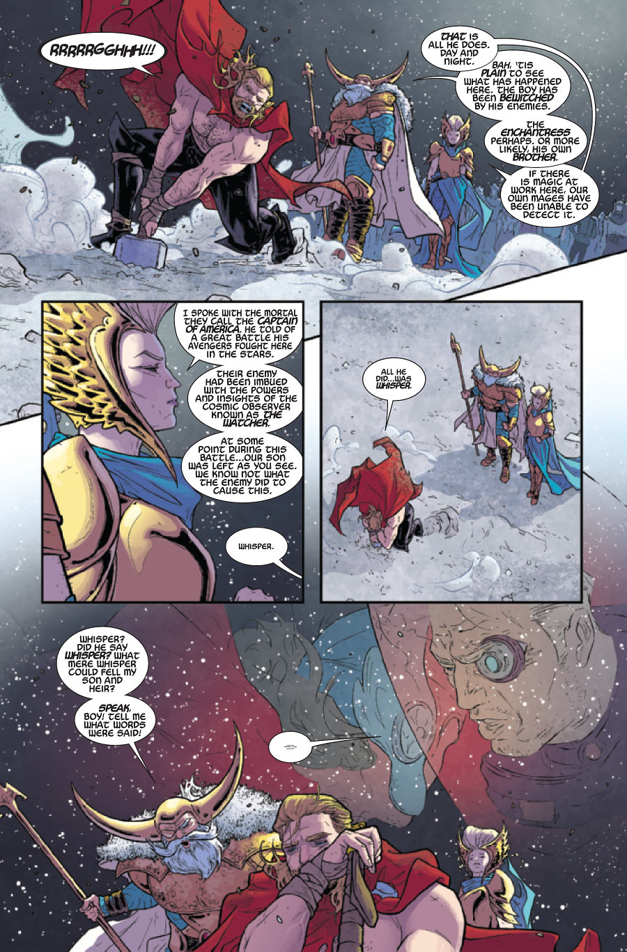 thor 1 by jason aaron russell dauterman review books