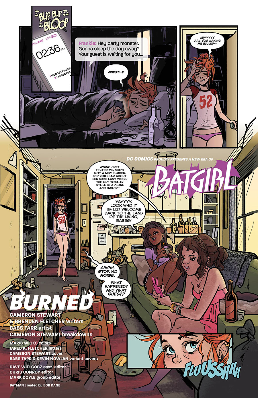 batgirl  books reviews paste