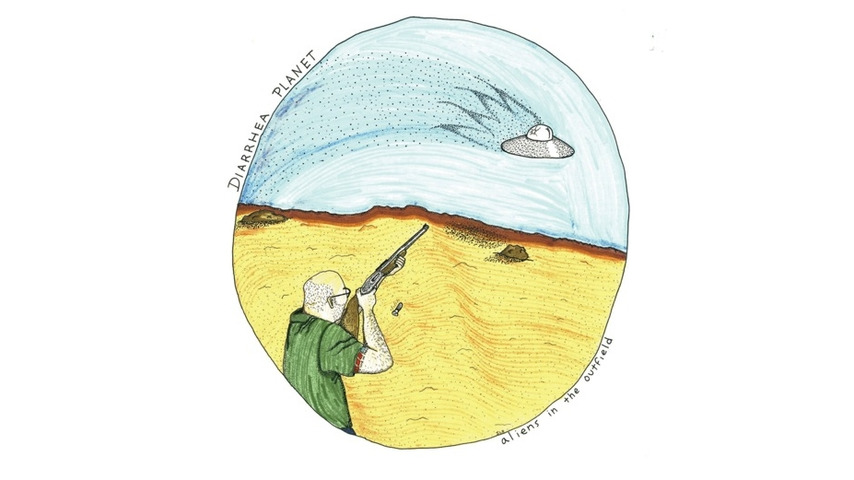 Diarrhea Planet: <i>Aliens in the Outfield</i> EP Review