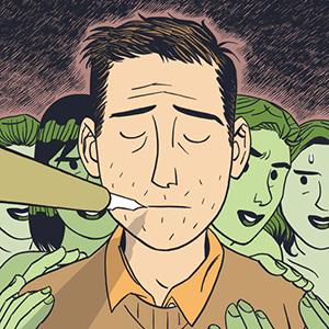 Dylan Horrocks on Depression, Magic Pens and Tasteful Comics Porn