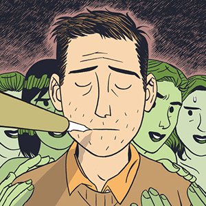 Dylan Horrocks on Depression, Magic Pens and Tasteful Comics Porn