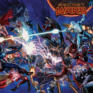 """The Marvel Comic Universe Ends in May with """"Secret Wars"""""""