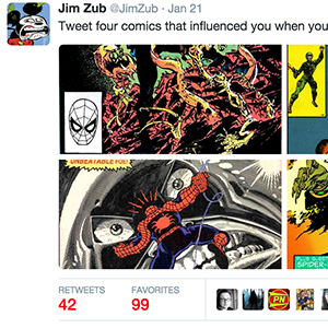 Writers & Artists Get Nostalgia Drunk on Twitter with #fourcomics