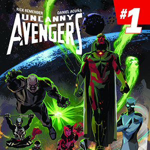 <i>Uncanny Avengers</i> #1, Vol. 2 by Rick Remender & Daniel Acuña  Review