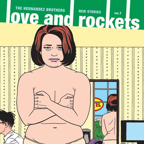 Happy Valentine's Day! Win a Free Copy of <i>Love and Rockets: New Stories</i> Vol. 7