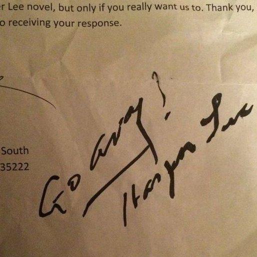 Go Away! Harper Lee Tells Reporter to Buzz Off