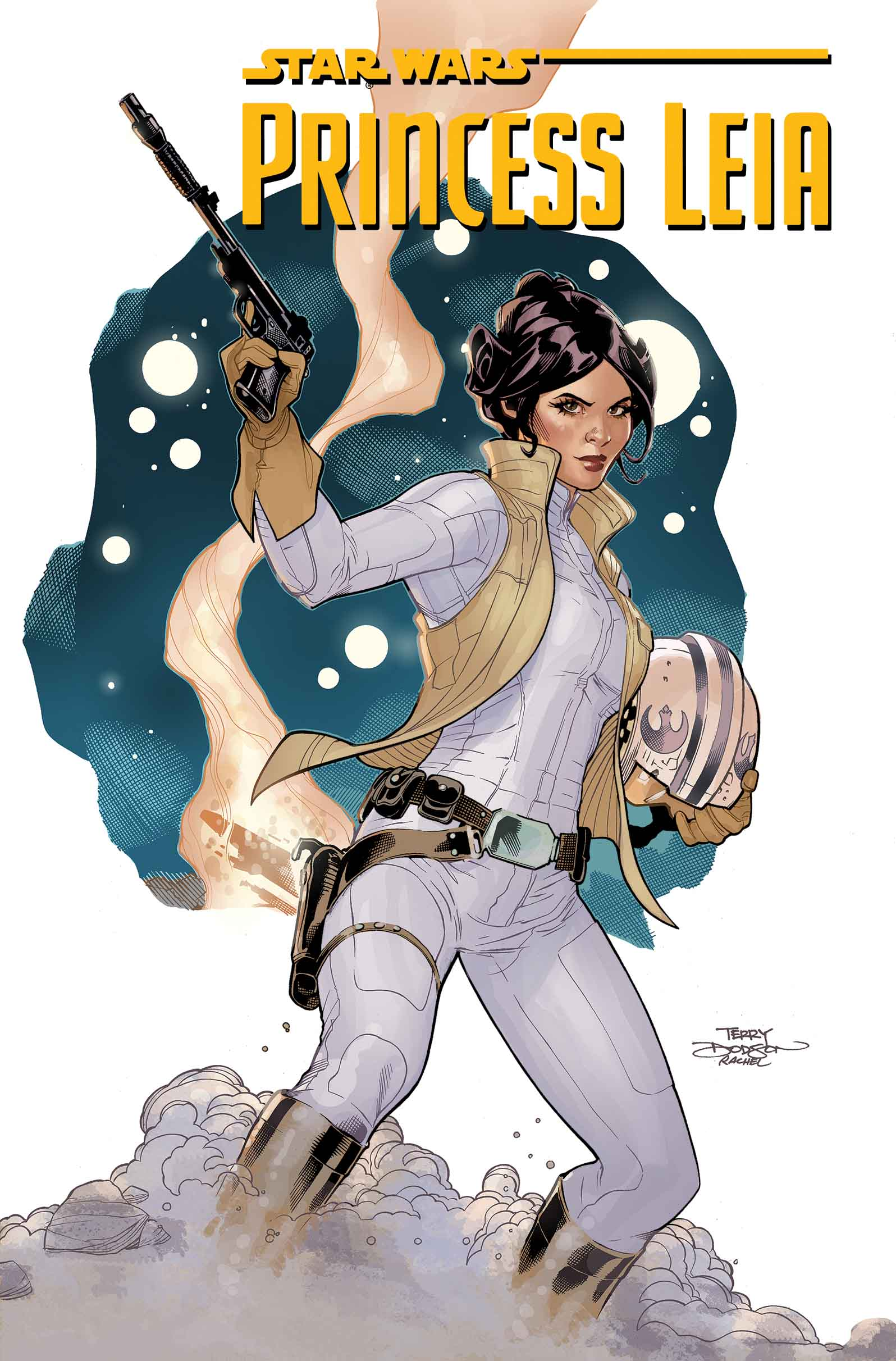 star wars princess leia 1 by mark waid terry dodson review comics reviews star wars. Black Bedroom Furniture Sets. Home Design Ideas