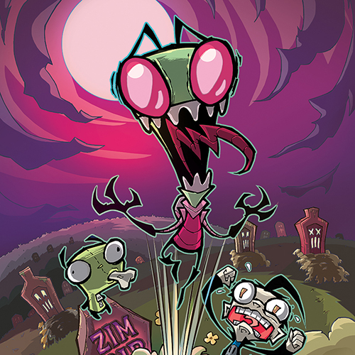 Aaron Alexovich on His New <i>Invader Zim</i> Comic, Non Sequitur Humor and the Power of Hot Topic T-Shirts