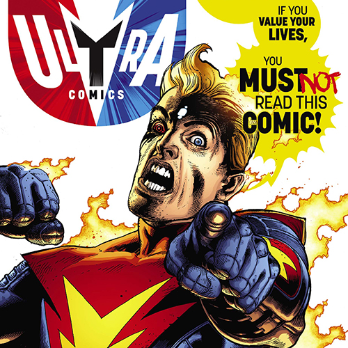 Exclusive Preview & Interview: Grant Morrison Unleashes a Haunted Comic in <i>The Multiversity: Ultra Comics</i> #1