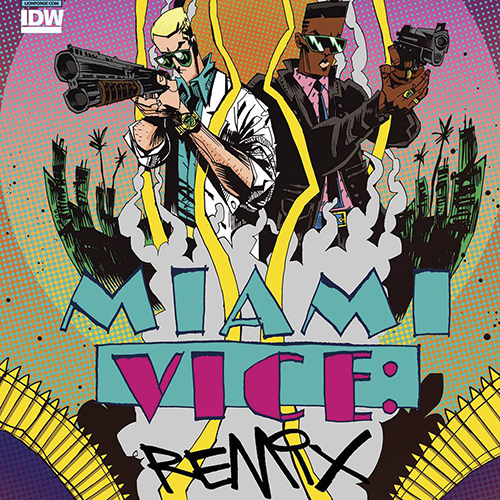 <i>Miami Vice Remix</i> #1 by Joe Casey & Jim Mahfood Review