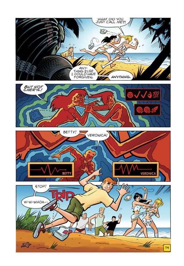 Archie Vs Predator 1 By Alex De Campi Amp Fernando Ruiz