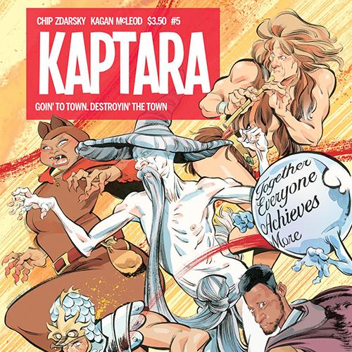 State of the Art: Kagan McLeod Gets Kinetic in <i>Kaptara</i>