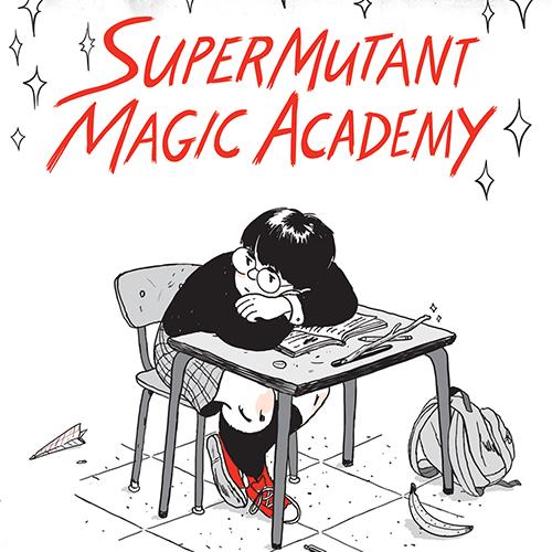 <i>Calvin and Hobbes</i> with Powers: Jillian Tamaki On <i>SuperMutant Magic Academy</i>