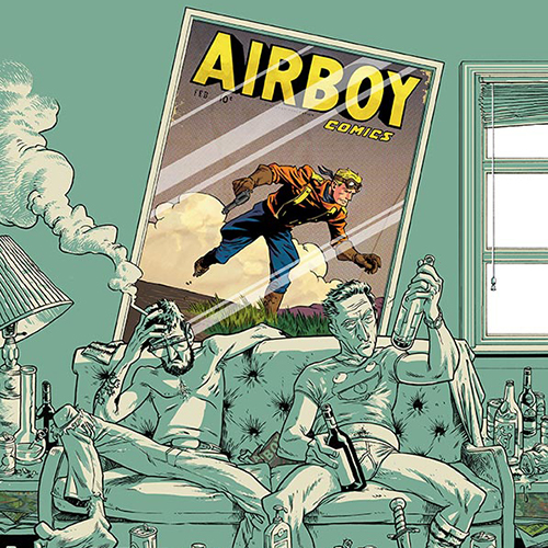 <i>Airboy</i> #1 by James Robinson & Greg Hinkle Review