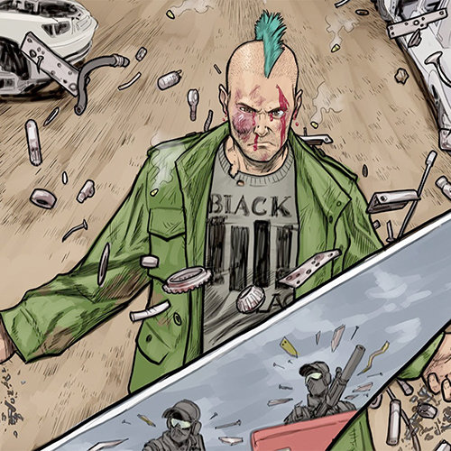 Exclusive: Caitlin Kittredge, Steven Sanders Blow Minds on New Image Sci-Fi Comic, <i>Throwaways</i>